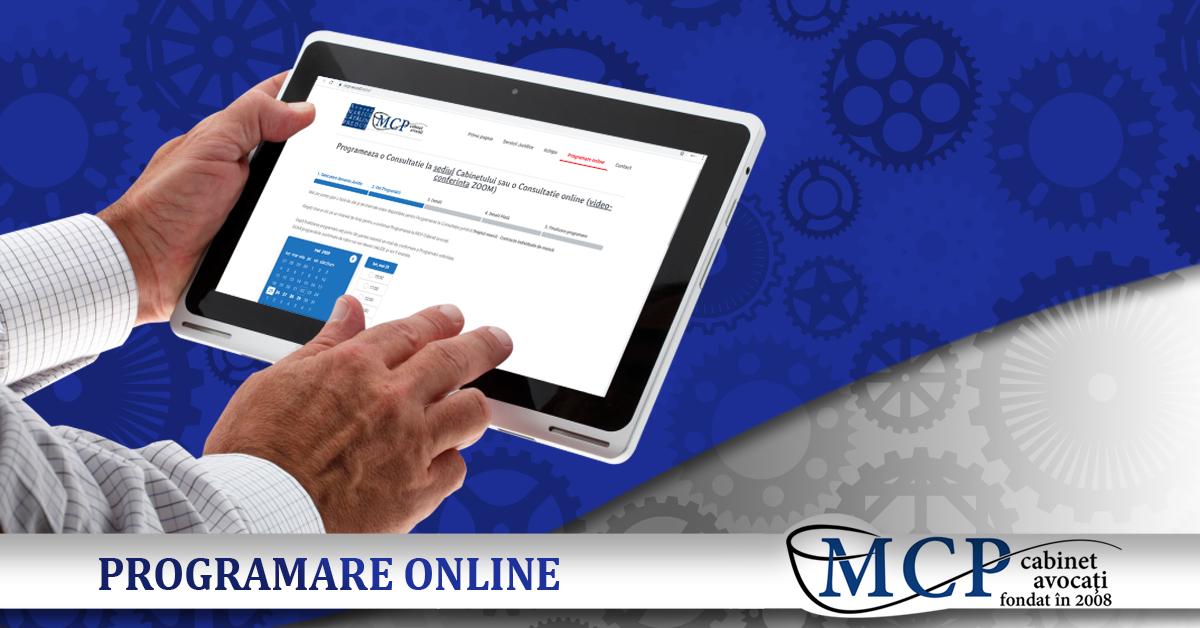 Programare consultatie online MCP avocati