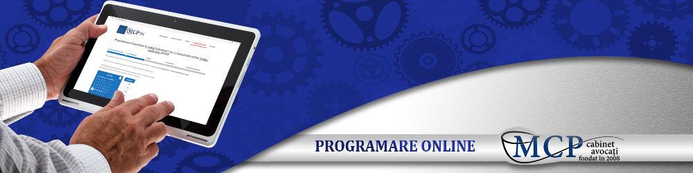 Programare consultatie online MCP Cabinet avocati